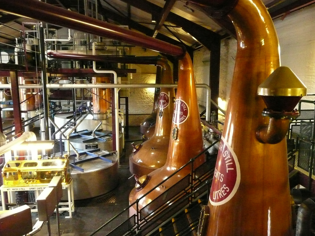 The Bushmills Distillery