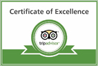 pinetrees tripadvisor excellence award