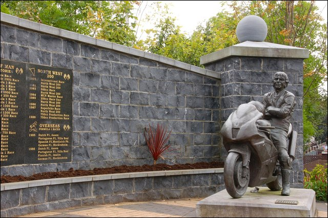 The Joey and Robert Dunlop Memorial Gardens